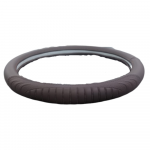 STC509 – STEERING WHEEL COVER LEATHER TYPE (37.5 X 8.5CM)