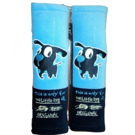 SHP057 – LITTLE DOG S.BELT PAD SKY/NAVY BLUE