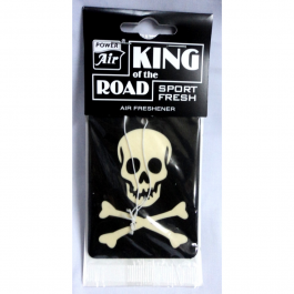 AF874-A-KING OF THE ROAD-WHITE