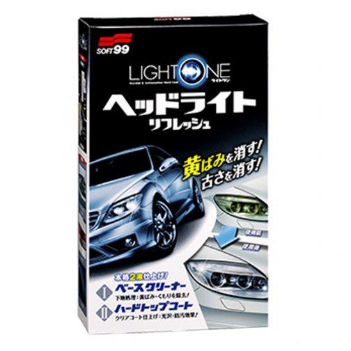 BS308-SOFT99 LIGHT ONE-HEADLIGHT REFRSHNER - carmart.ae