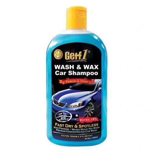 Getf1 Car Wash Wax Shampoo 500ml - carmart.ae