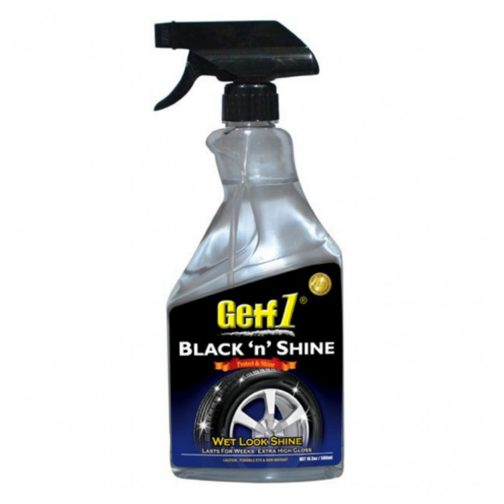 Getf1 Black Shine 500ml | Getf1 Black 'n' Shine 500ml - carmart.ae