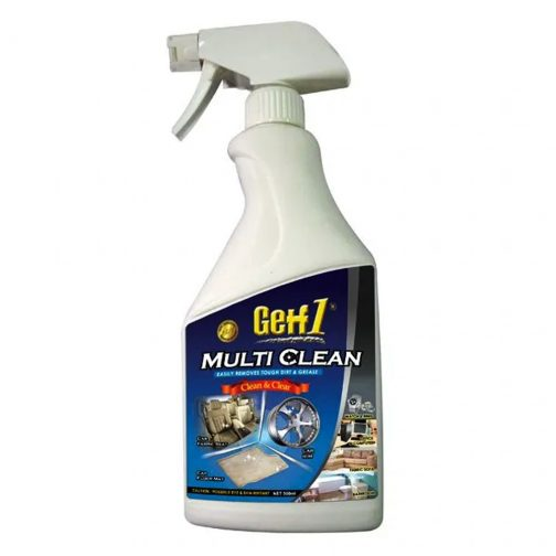 Getf1 Multi Clean 500ml   Getf1 Multi Clean in White Bottle 500ml - carmart.ae